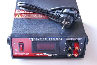 20APOWERSUPPLY GT Power Adattatore Digitale 220V - 12V, 20A