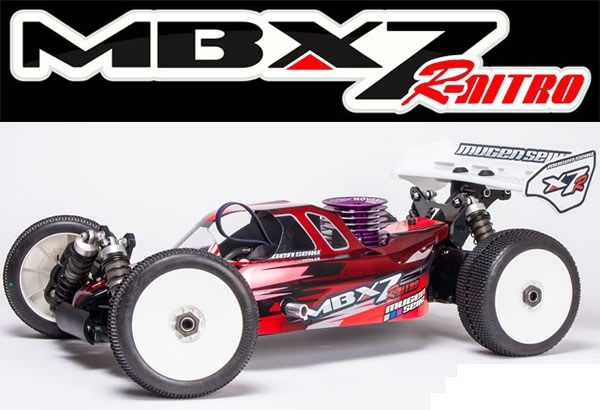 MUGE2015 Mugen Seiki MBX7R 1/8 Nitro Buggy Kit (off road)