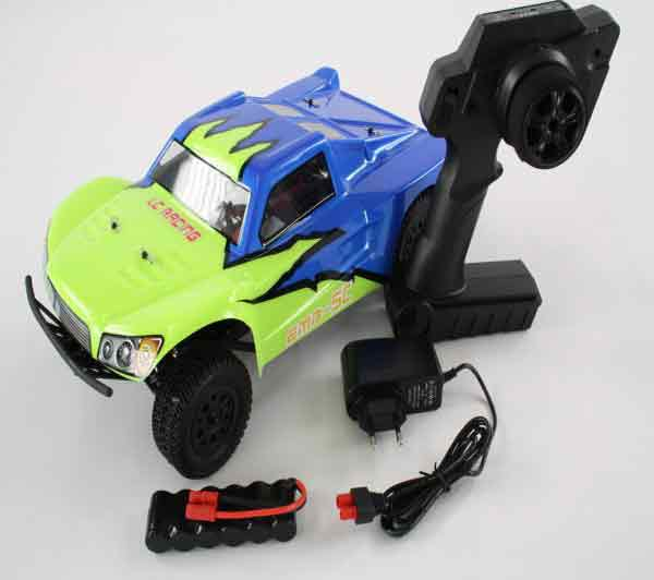 EMB-SCH LC RACING - 1/14 Mini Short Course Truck 2.4GHz Brushless RTR