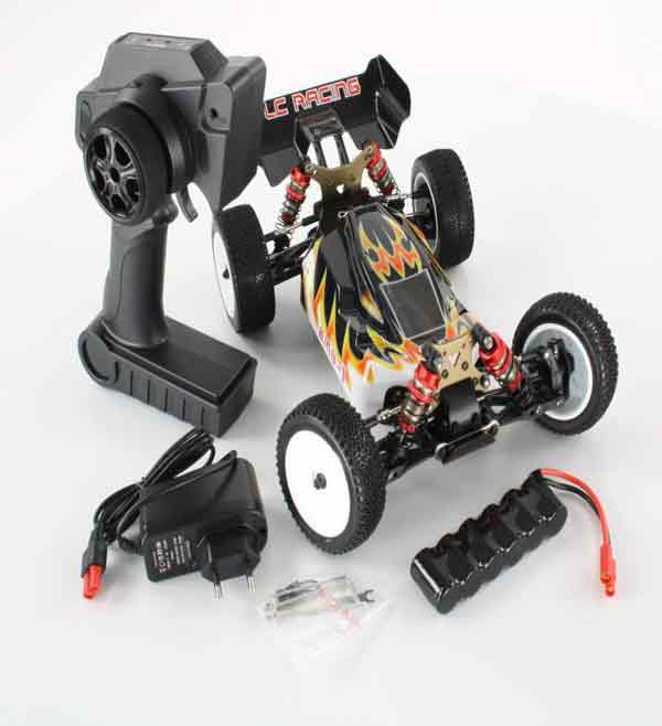 EMB-1L LC RACING - 1/14 Mini Buggy Off Road 2.4GHz Brushed RTR STD