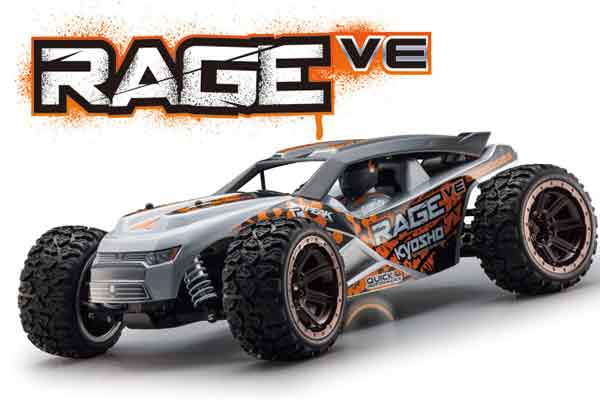 KYO30992T1 Kyosho Automodello RAGE VE EP 1/10 4WD