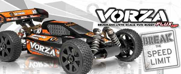 HP101850 Hpi Racing Automodello VORZA FLUX HP 2.4G RTR
