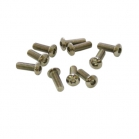 UR162412 ULTIMATE :: VITE M4X12MM TESTA BOMBATA (10PZ)