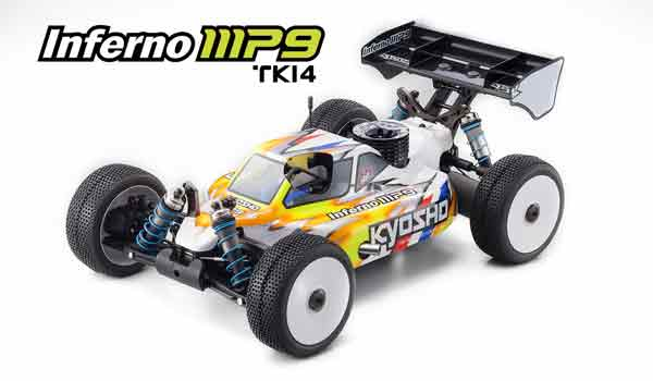 33001-B Kyosho Nuovo Automodello Off Road INFERNO MP9 TKI-4