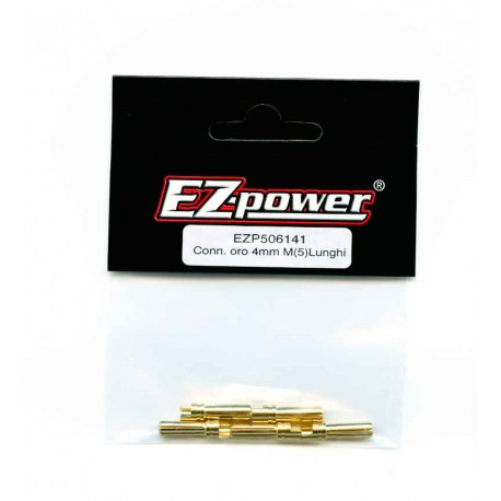 EZP506141 EZ Power Connettori Oro 4mm Maschio (5)