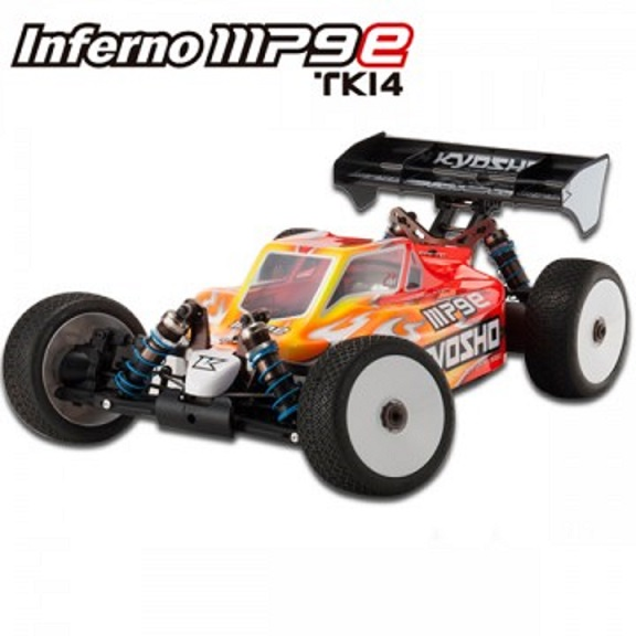 30898-B Kyosho Nuovo Automodello Off Road INFERNO MP9-E TKI-4