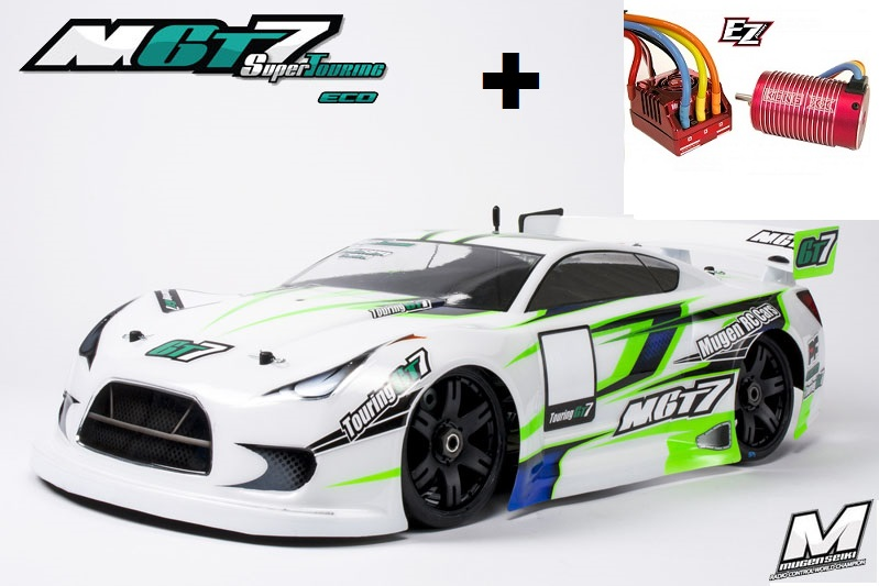 MUGE2018-C Mugen Seiki Nuovo Automodello Mugen MGT7 ECO Super Touring 1/8 GT Combo EZ POWER MR. KONG