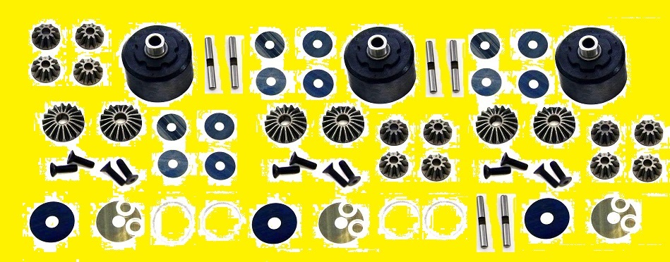 MUG-K09 Mugen Seiki Forti Sconti Kit Differenziali  MBX7-R