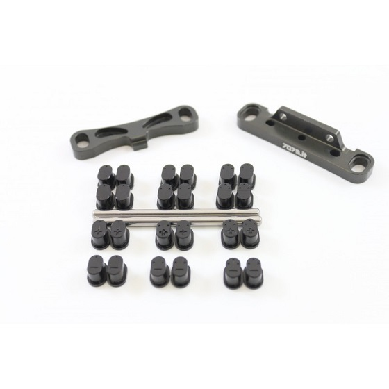 FF75-HB09GH 7075  Kit supp.bracci posteriore HB Racing D817-E817