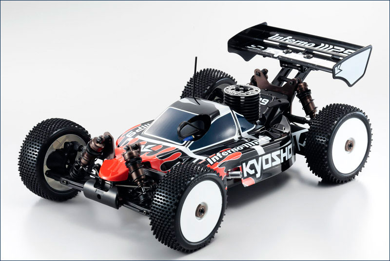 31888 Kyosho Automodello Kyosho Inferno MP9 TKI3 RTR con radio 2.4GHZ