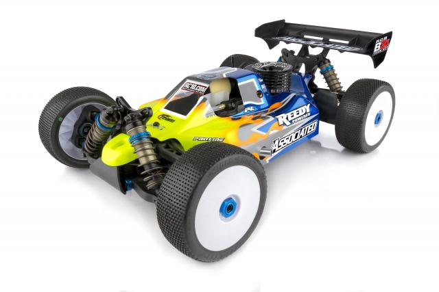 AE80935 Associated RC8B3.1 Nitro Team Kit 1:8 Scale Nitro 4WD Off Road Competition Buggy Kit