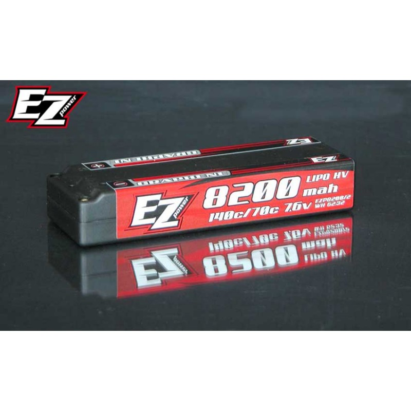EZP8200/2 EZ Power Batterie 8200 MAH 7,6V 2S 140/70C GRAPHENE