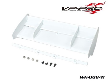 WN-008-W VP PRO Nuovo Alettone Buggy VP PRO Buggy Racing Bianco (1 Pz)