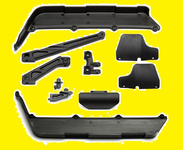 ASSO-K15 Associated Forti Sconti Kit Parti in Plastica RC8B-3.1 RC8B-3.1E