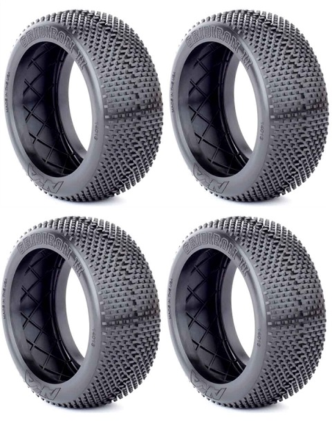 AKA14013SX/T AKA Racing Gomme Buggy 1/8 GRID IRON II (Soft) (4) BULK