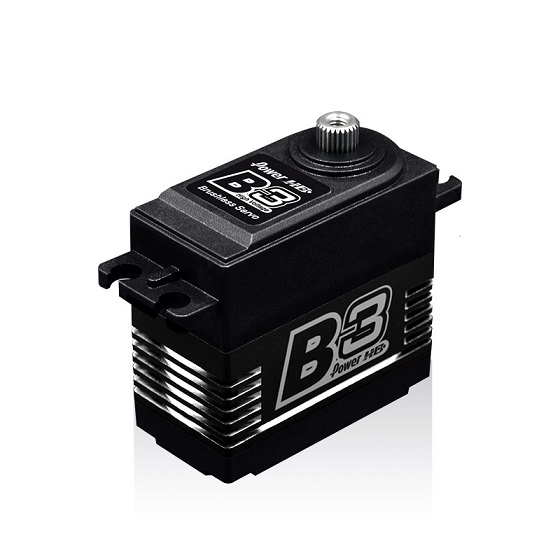 PHD-B3 Power HD Servocomando Power HD B-3 (6.0V): 27.0 kg-cm  7.4V): 30.0 kg-cm