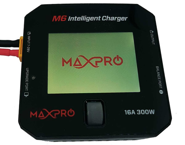MAXS230 MaxPro Caricabatterie M6 Intelligent Charger 12V 300W Max Pro