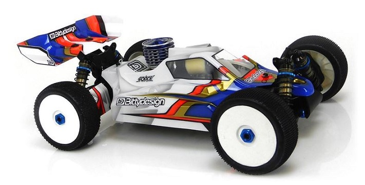 BDFRC-A007B3 BittyDesign Carrozzeria FORCE x Associated RC8-B3-B3.1