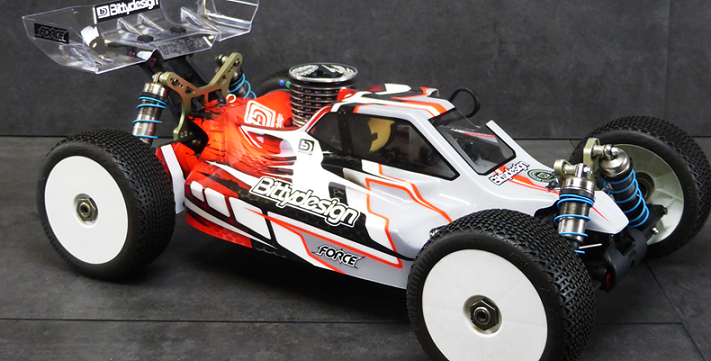 BDFRC-K004 BittyDesign Carrozzeria FORCE x Kyosho MP9 TKI-3-4