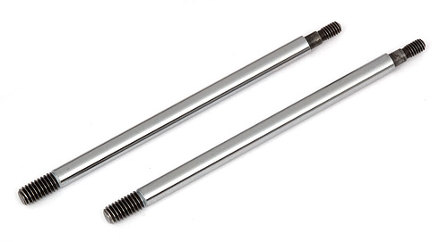 AE81175 Associated RC8B3 FT Chrome Shock Shafts, 3.5x39.5 mm