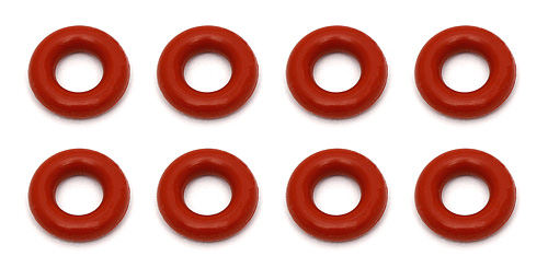 AE81186 Associated RC8B3 Shock O-rings, red