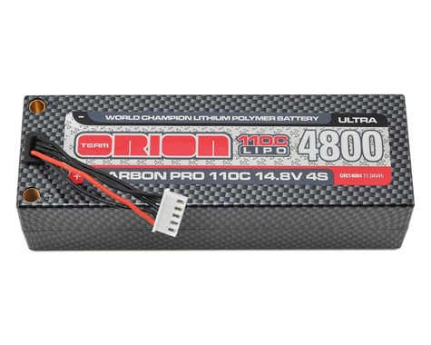 ORI14084 Team Orion Batteria Carbon Pro Ultra 110C LiPo (14,8 V / 4800 mAh)