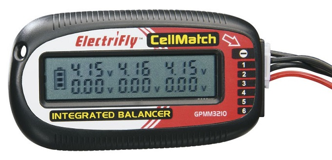 GPMM3210 GPM  ELECTRIFLY CELLMATCH 2S-6S BALANCING MET