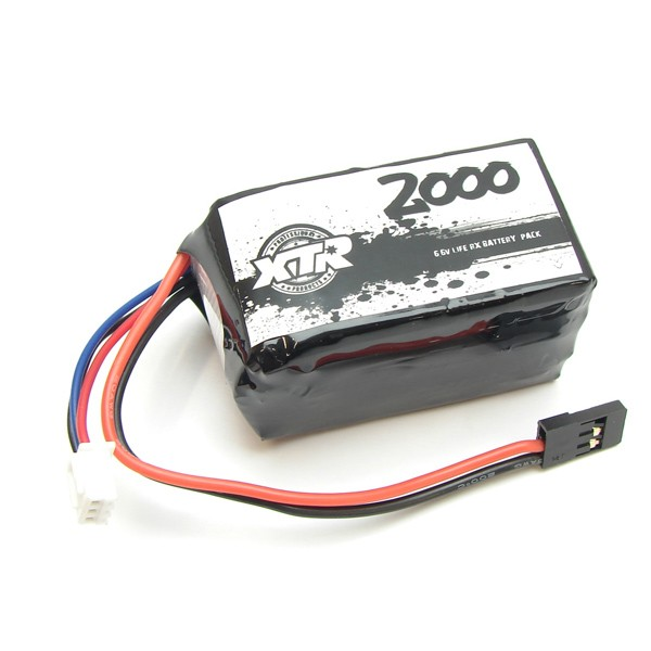 XTR-0209 XTR Products Receiver Battery SQUARE LIFE  6.6v 2000 Mah