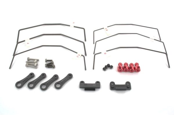 L6134 LC RACING Kit Barre Torsioni Ant/Post EMB