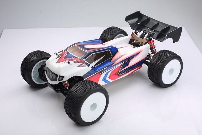 EMB-TGH LC RACING - 1/14 TRUGGY 2.4GHz Brushless RTR