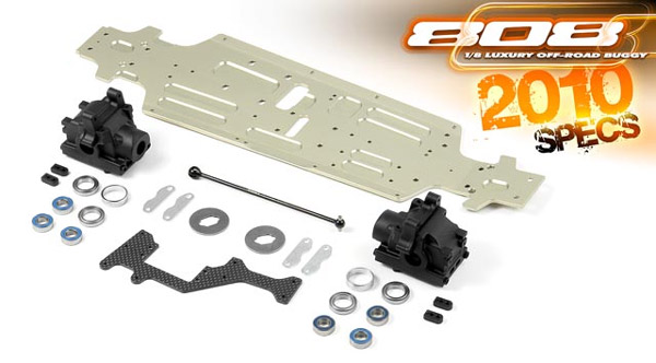XRA350902 XRAY Conversion Kit XB808 2009/2010 XB808(4)