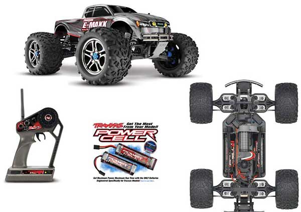 TXX3908 TRAXXAS 3908 - E-Maxx Brushless Edition