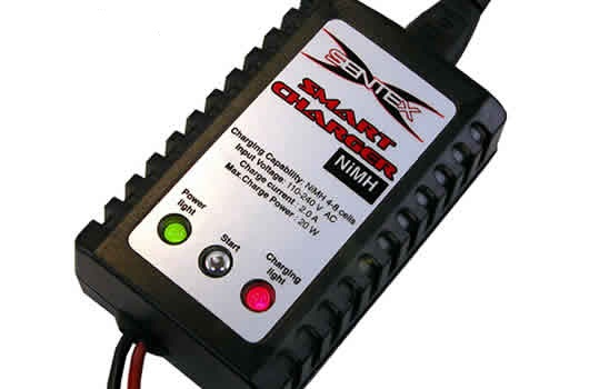 EZSN048 SENTEX SMART CHARGER 220V  NICD-NIMH 4-8 CELLE