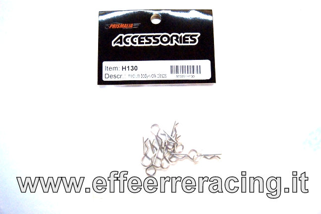 H130 Caster RAcing Spinette Carrozzeria Medie (10Pz)