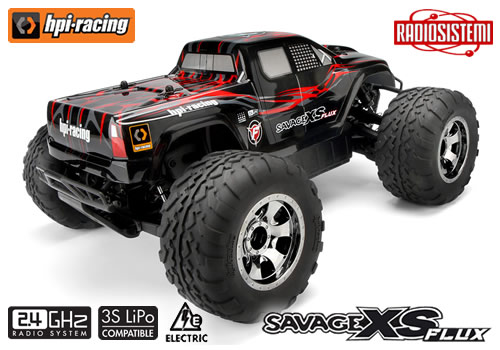 HP106572 HPI Savage XS Flux Monster Truck 4WD 2,4 Ghz RTR