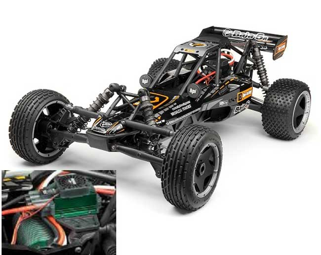 HP107685 HPI Racing HPI BAJA 5B FLUX RTR Scala 1:5