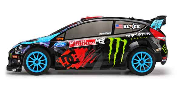 HP112868 HPI Racing Automodello a scoppio 1:10 WR8 3.0 2013 KEN BLOCK Fiesta RTR