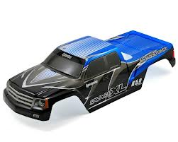 HP7750 HPI Racing Carrozz. GT Gigante Truck Verniciata Blu Savage XL