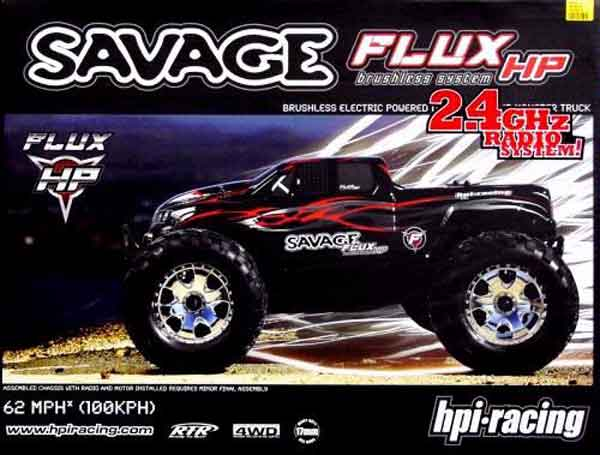HPI104242 HPI Racing Automodello Elettrico HPI Savage Flux HP Brushless RTR Monster Truck