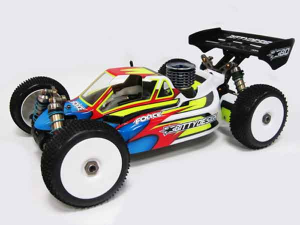 BDFRC-K003 BittyDesign Carrozzeria FORCE x Kyosho MP9 Tki/i2/i3