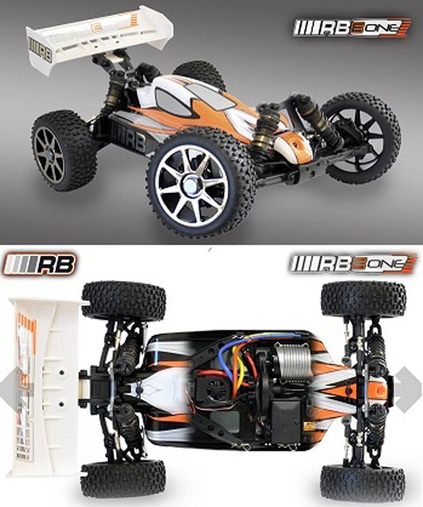 RB-0230003 RB Product RB E-One Buggy RTR 4WD 2.4ghz Brushless