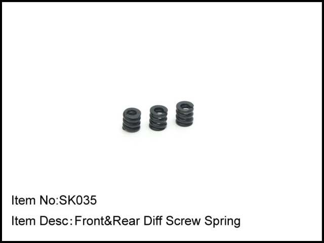 SK035 Caster Racing MOLLE DIFFERENZIALE S10B