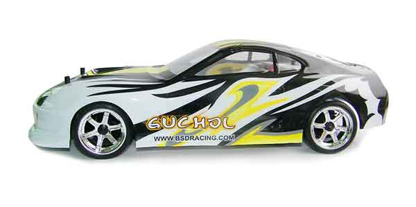 BS204T BSD Racing 1/10 RTR DRIFT BRUSHED BSD RACING