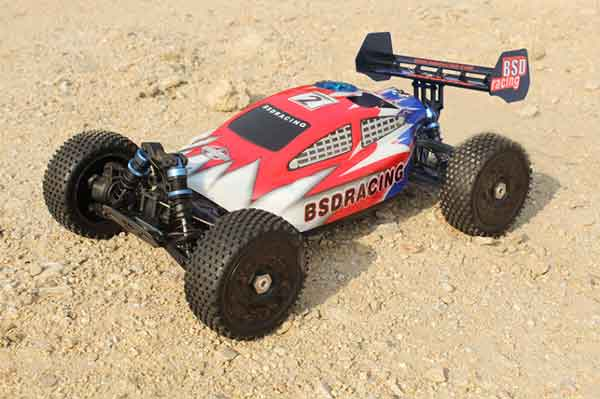BS832T BSD Racing Automodello 1/8 RTR NITRO BUGGY BSD RACING