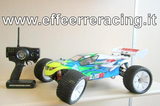 F8T-RTR Caster Racing Automodello Truggy F8T RTR 2.4 GHZ Motore Brushless 2075 Kv