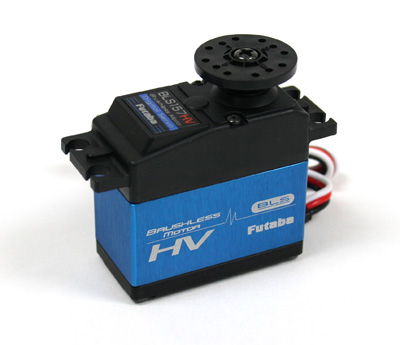 RSB157 Futaba Servocomando BLS157HV High Voltage Brushless 7.4V 37Kg 0,11 Sec.