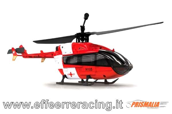 H105-1 Prismalia HUBSAN 4CH Mini EC145 RED MODE 1