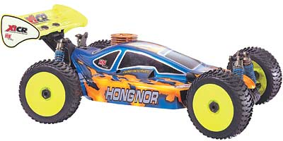 HN X1CR FT 1/8 Competition Buggy in kit di montaggio