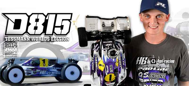 HB114615 Hot Bodies Kit Nuovo Automodello Buggy D815 (World Champion 2014)