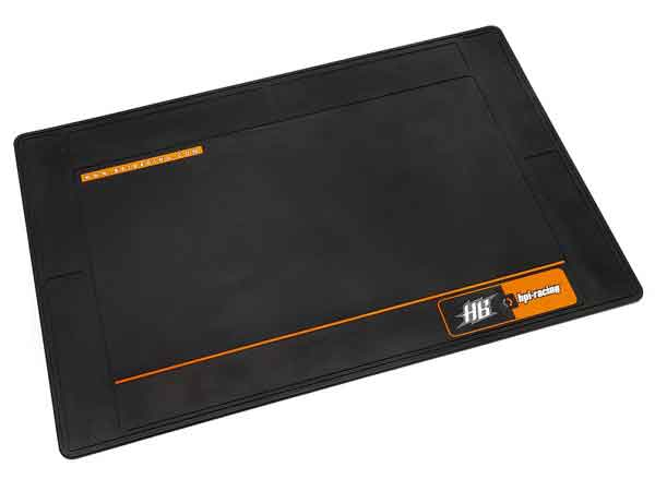 HP101997 HPI/HB RACING PIT MAT (LARGE/BLACK)